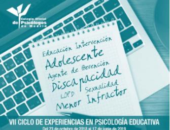 VII Ciclo de Experiencias en Psicología Educativa (Videoconferencia)